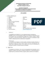 SILABO 2016- informatica