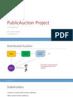 Project 4 Auction Spec