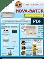 Thermal Hova-Bator Instructions