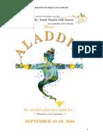 Aladdin (Updated) Script