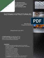 Sistemas estructurales
