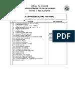 Temarios Pruebas Académicas Realidad Nacional Proceso Unificado 2017