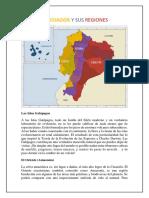 El Ecuador y Sus Regiones