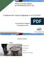 Ing. José Alvarez - Evaluación del concreto según ACI 318 2015.pdf