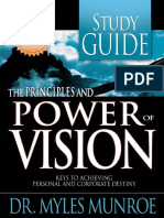 Principles and Power of Vision- - Myles Munroe