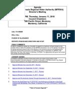 MPRWA Agenda Packet 01-11-18