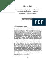 Muñoz - No es fácil - Notes on the Negotiation of Cubanidad and Exilic Memory in Carmelita Tropicana's Milk of Amnesia.pdf