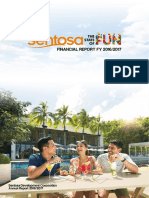 Sentosa AR 1617 Financial Report