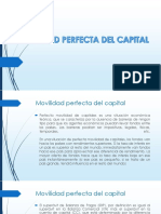 Movilidad Perfecta Del Capital