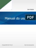 Manual Do Usuário SM-P585M