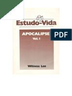 Estudo-Vida de Apocalipse - Vol. 1
