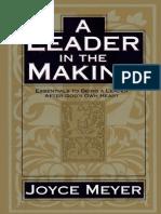 A Leader in the Making_ Essenti - Joyce Meyer