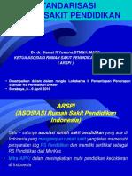 Standar Rs Pendidikan Surabaya Final