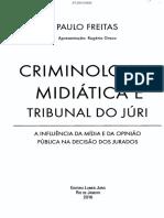 Criminologia Midiatica Tribunal Freitas