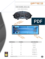 Manual Giga Digital - VW Painel Gol G6