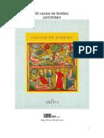 Anonimo - El Cantar De Roldan.pdf