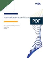 Visa Merchant Data Standards Manual