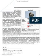 Jean Piaget – Wikipédia, A Enciclopédia Livre
