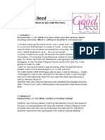 The Good Deed-reading Activities - Carlos Gil