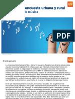 GfK OP Diciembre 2015 - Los Peruanos y La Musica 3