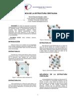 Estructura Cristalina Morales-estrella