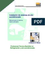Preparación de equipo y ... normas y códigos para instalaciones ... de sistemas de aire acondicionado.pdf