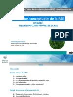 Unidad I_Elementos Conceptuales de La RSE
