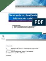 Unidad II_Técnicas de Recolección de Información