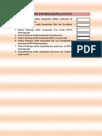 Form Informasi Pelayanan