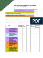 Cuestionario Para Padres CSNP