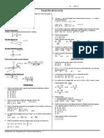 Ecuación de la recta..doc