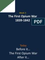 03 Lecture Opium War