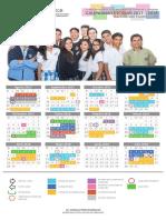 Calendario Escolar 2017 2018 DGB Escolarizado