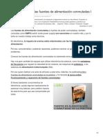 Fidestec.com-Cómo Funcionan Las Fuentes de Alimentación Conmutadas I
