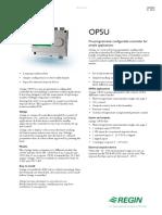 Regin Optigo OP5U Preprogrammed Controller