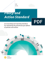 Policy and Action Standard 3.11.15