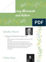 literary movements and authors  1