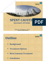 Spent Caustic Treatment Options-Saudi Aramco