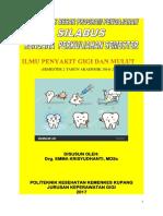 Gbpp Silabus RPP Ilmu Penyakit Gigi Dan Mulut Smtr 2 2016-17 Jurusan Kesehatan Gigi