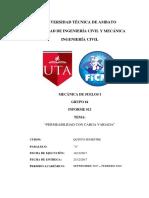 Informe N°12 PERMEABILIDAD