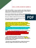 Test Simplu Pentru a Verifica Nivelul de Candida in Corpul Tau