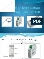 Control de Temperatura Empleando PT100