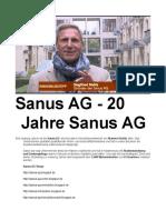 Sanus AG Standort Berlin