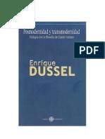 DUSSEL, Enrique - Posmodernidad y Trans Modern Id Ad [PDF]