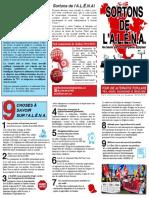 PCQ-PCC Campagne contre l'ALÉNA 2018
