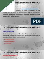 Presentacion Planeación de Requerimientos de Materiales