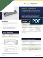 Omni-ID Power 400 415 Datasheet