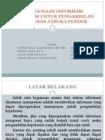 Presentasi Penggunaan Informasi Akuntansi Untuk Pengambilan Keputusan Jangka Pendek (2)