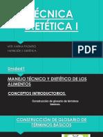Catedra Técnica Dietética i. 18 de Diciembre Del 2017