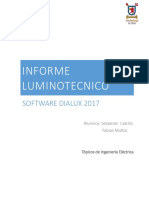 Informe Dialux